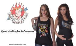 hotmamaink trendy tattoo maternity nursing womens yoga wear